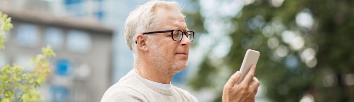 Wat is (ouderdomsverziendheid)? Leesbril. Moeite met lezen van dichtbij vanaf 40 jaar.